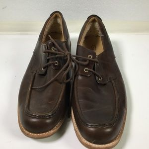 30ab1e39480 UGG Men s Chocolate Brown Dress Shoes Size 14